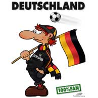 Fan Deutschland black